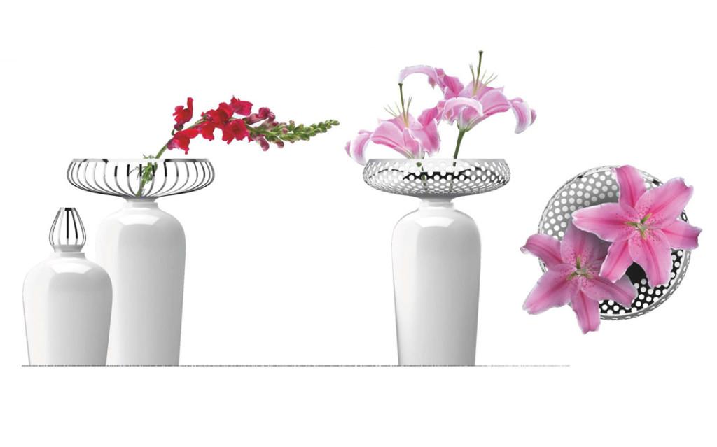 Rosenthal Vasen Die objekthafte Gestaltung steht im Fokus einer Reihe von Vasenentwürfen die von BUDDE BURKANDT DESIGN entwickelt wurden. Sie verfolgen die Idee, die Vase als Skulptur wahrzunehmen. Als unabhängige Objekte besitzen sie auch ohne Blumen eine spannungsvolle Wirkung. Diese wird bereits durch die Präsentation einer einzelnen Blume verstärkt. Rosenthal Vasen von budde burkandt innovation design ist eine strategische Agentur - Studio für strategisches Produkt design - innovatives Industriedesign - ui ux design in München Deutschland. Rosenthal Vasen Die objekthafte Gestaltung steht im Fokus einer Reihe von Vasenentwürfen die von BUDDE BURKANDT DESIGN entwickelt wurden. Sie verfolgen die Idee, die Vase als Skulptur wahrzunehmen. Als unabhängige Objekte besitzen sie auch ohne Blumen eine spannungsvolle Wirkung. Diese wird bereits durch die Präsentation einer einzelnen Blume verstärkt. Rosenthal Vasen von budde burkandt innovation design ist eine strategische Agentur - Studio für strategisches Produkt design - innovatives Industriedesign - ui ux design in München Deutschland.