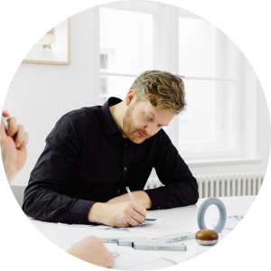 Design Team Marco Burkandt an experienced professional in his field, manages product development processes efficient and goal-oriented. design team